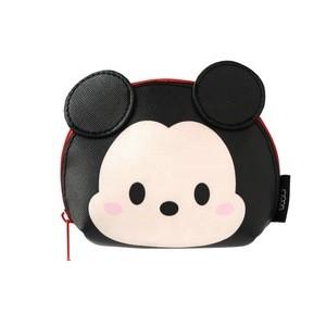 Genuine Disney tsum tsum Mickey 90th Anniversary Women Portable Waterproof PU Coin Purse
