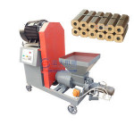 Sawdust coffee husk to biomass charcoal briquette making machine in Turkey