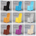 wholesale durable cheap stretchable spandex wedding banquet chair cover