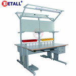 Fashion ESD Standard Metal Electronic repair Woodworking Benches For Sale