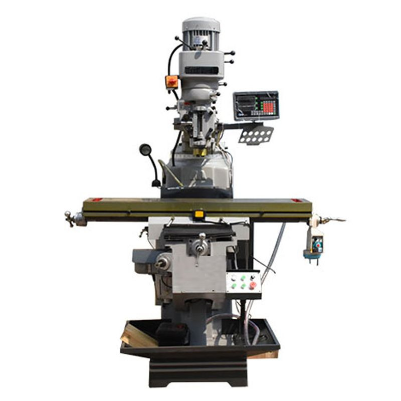Import Vertical Turret Milling Machine with Taiwan Milling Head from China