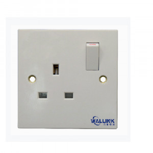 New Listing single pole doulbe pole White Safety Wall Socket for Industrial