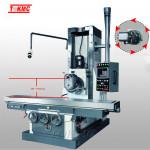 bed type universal milling machine