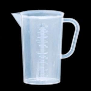 1000ml Laboratory Plastic Measuring Cup with Handle 1L Plastic Beaker