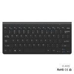 78 Keys Ultra Slim 2.4G Wireless Gaming Office Keyboard and Mouse Combo for Laptop Desktop Mac PC / Smart TV / Android TV Box