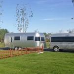 Best seller Aluminium Airstream catering supplies food van trailer for sale