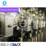 Glass bottle palm oil filling project for PET bottle oil filling and capping machine from China