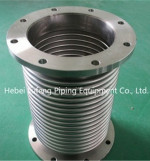 Stainless steel welded plate flange  with bellows hoses