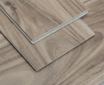 Click wpc vinyl flooring 6mm thick luxury  engineered plank with cork backing