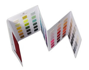 Kingshine  customized cashmere fabric color chart high quality textile swatch card sample books making