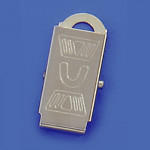 Metal Clips Multifonction ID card holder clip Lanyard badge clip