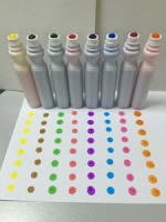 Washable Dot Markers / Children Art Set , Pack with Activity Sheets Book,markers for bingo game,CH2829