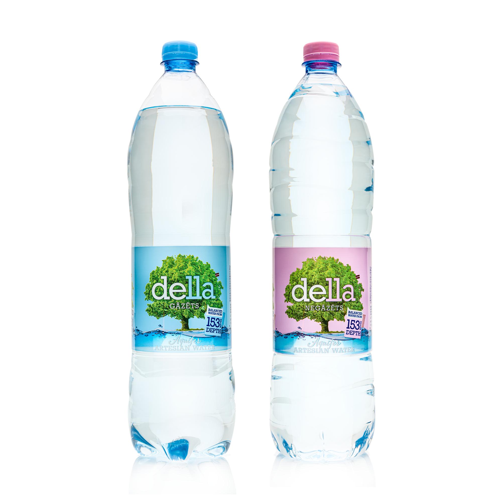 Mineral Water DELLA 1.5L PET bottled Artesian Water