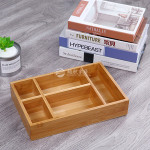 cheap price fashion style custom making bamboo wood home tool storage tray
