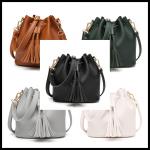 Custom Tote Bags Women Design 2020 Elegant Tote Shoulder Hand Bag Genuine Leather Lady's Bucket Bag