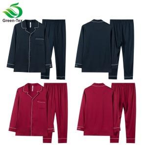 Cheap long silk-like Satin Pajamas For Women