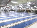Customizable  Intelligent Automatic Plastic Belt Conveyor System for Carton Production line