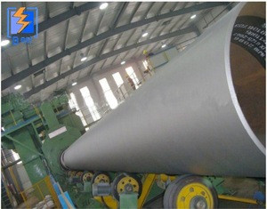 Steel Pipe outer wall Shot Blasting Abrator - Steel Drain Pipe Cleaning with SGS