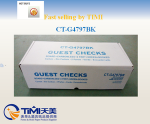 FSC paper CT-G4797BK popularity clear copy carbonless guest checkwith logo