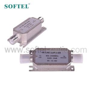 [SOFTEL]TV Equipment in-line 950-2300MHz satellite indoor tv signal amplifier