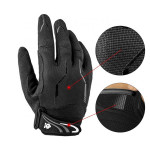 Amazon Hot Motorbike Racing Sports Gloves Bicycle Cycling Gloves with Touch Screen Fingertips