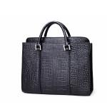 Luxury brands leather men's briefcase laptop bag