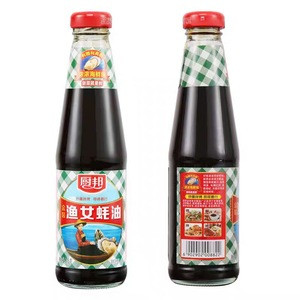 Wholesale 315g Oyster sauce Chinese Seafood Paste Natural Oyster Sauce In Glass Bottle