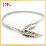 wholesale gold metal belt leaf belt