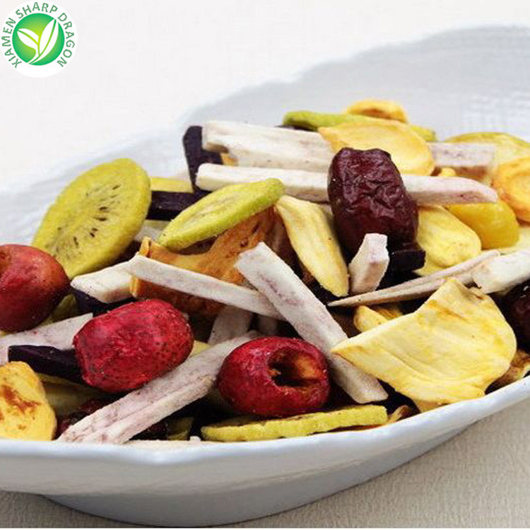 Organic vacuum frying vegetable and fruit chips Max Box Bulk Style Storage Packaging Air Pack Weight Type