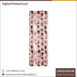 Low Price Digital Printed High Quality 100% Modal Women Scarf