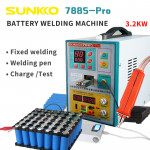 788S-Pro 3.2KW High Power upgraded 18650 battery spot welding machine three functions for welding soldering and charging test