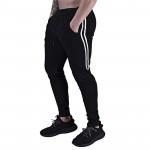 Jogger sweatpants men's cotton casual pants gym fitness slim drawstring trousers men's sportswear running sweatpants
