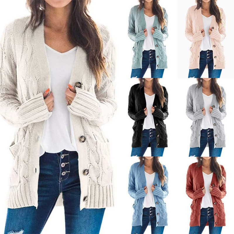 New design ins fashionable Cardigan sweater for women