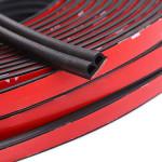 Universal B D P Z Type Automotive Weather Stripping Foam Rubber Sealing Strip for Car Door Window