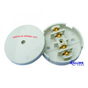 Factory Outlet Urea/Bakelite 4 Terminals 80mm White Electric Switch
