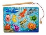 jigsaw ocean magnet fishing toys for child
