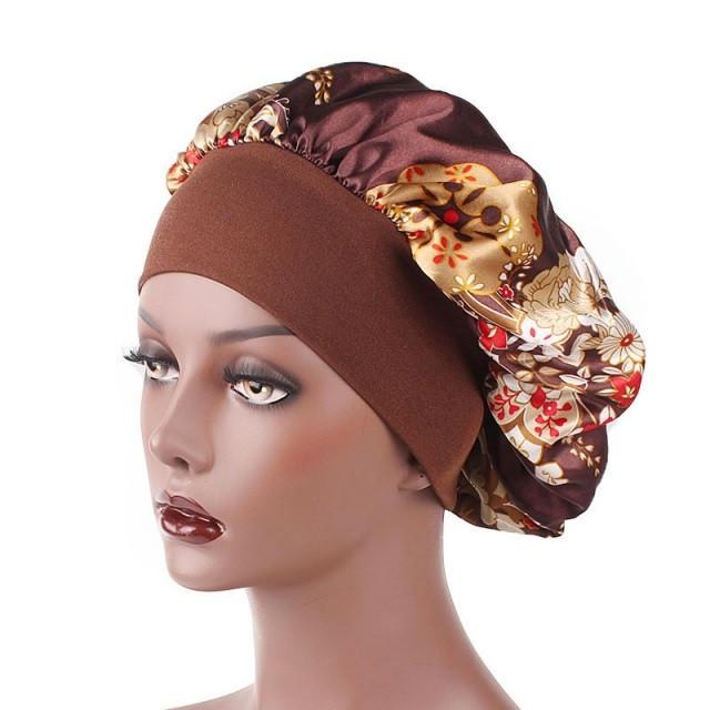 Plastic Shower Cap Waterproof Bath Hat Hair Cover Caps