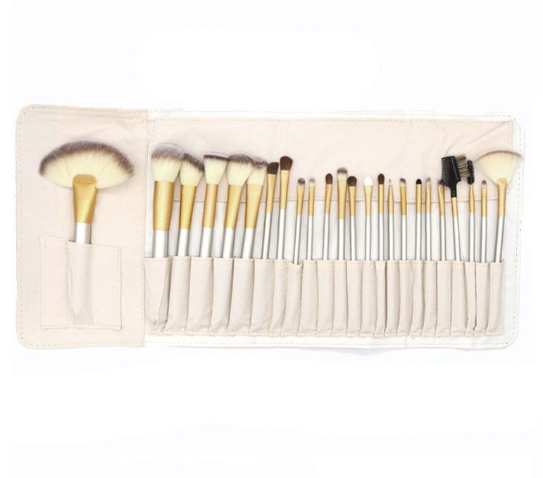 22PC  cosmetic brush with bag