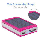 15000mah portable power bank solar charger
