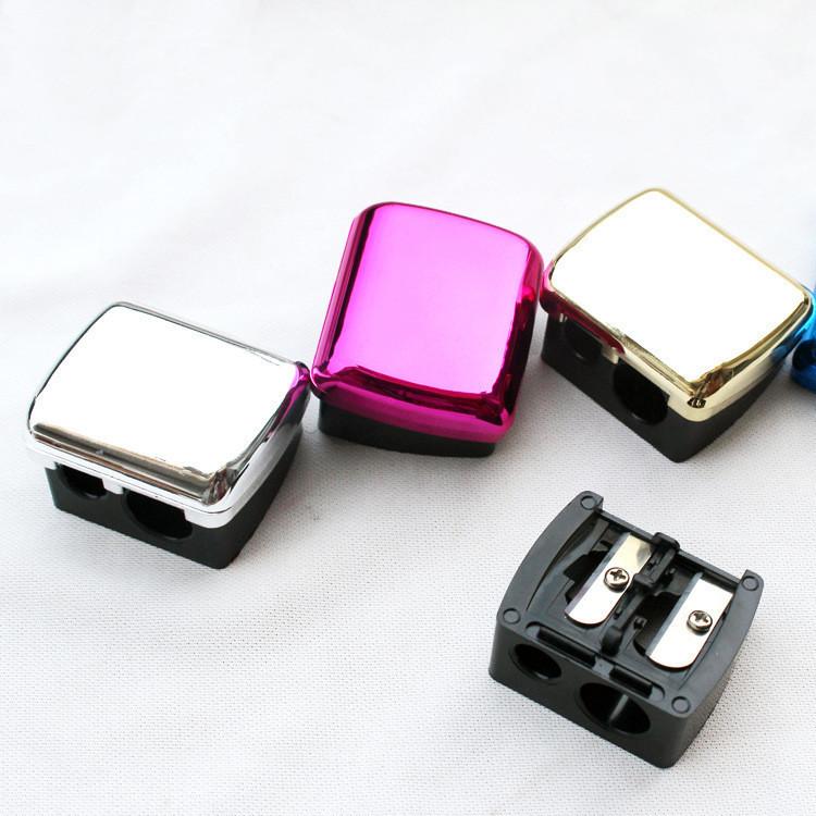 Dual Cosmetic Pencil Sharpener for Lip & Eeybrow Pencil Sharpening tools
