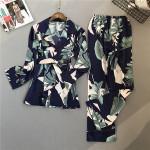 High Quality Unique Design Women Christmas Pajama Ladies Sleepwear Silk Pajamas Fashion