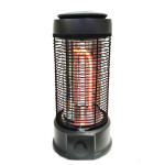 New arrival home appliance U shape carbon fiber black electric fan heater with latest technology