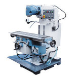 X6336WA bench Taiwan high speed milling head Large Torque universal Radial Vertical and Horizontal Turret Milling Machine