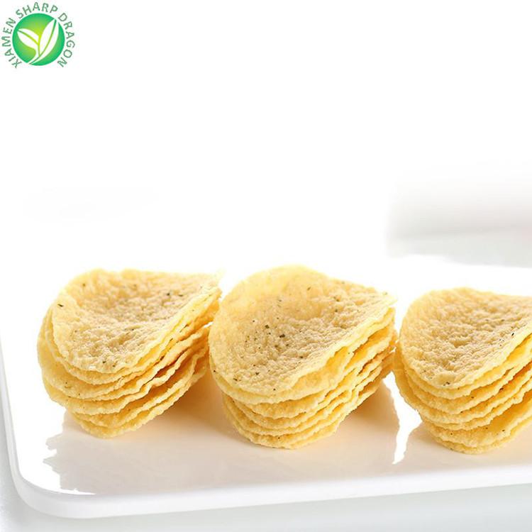 Delicious HACCP kids snacks vacuum fried crispy potato chips