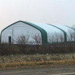 Portable shelter warehouse tent for storage