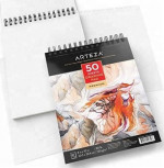 a4 120gsm white paper watercolor sketch book  spiral notebook