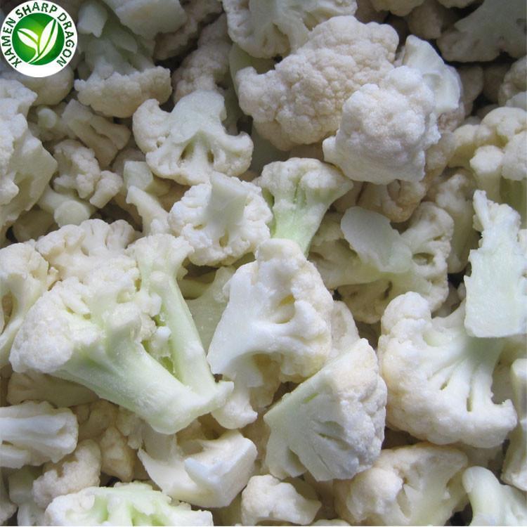 IQF Frozen Cut White Broccoli And Cauliflower
