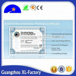 Security diploma certificate, education certificate, certification/certificate printing service