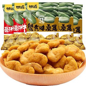 Wholesale healthy Broad bean snacks Crab-flavoured broad bean snacks a famous Chinese snack