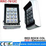 125khz 500 Users RFID Metal Standalone Door Access Controller with Keypad RRC-7612